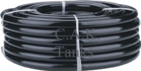 "1"" (25mm) BLACK REINFORCED WATER HOSE"